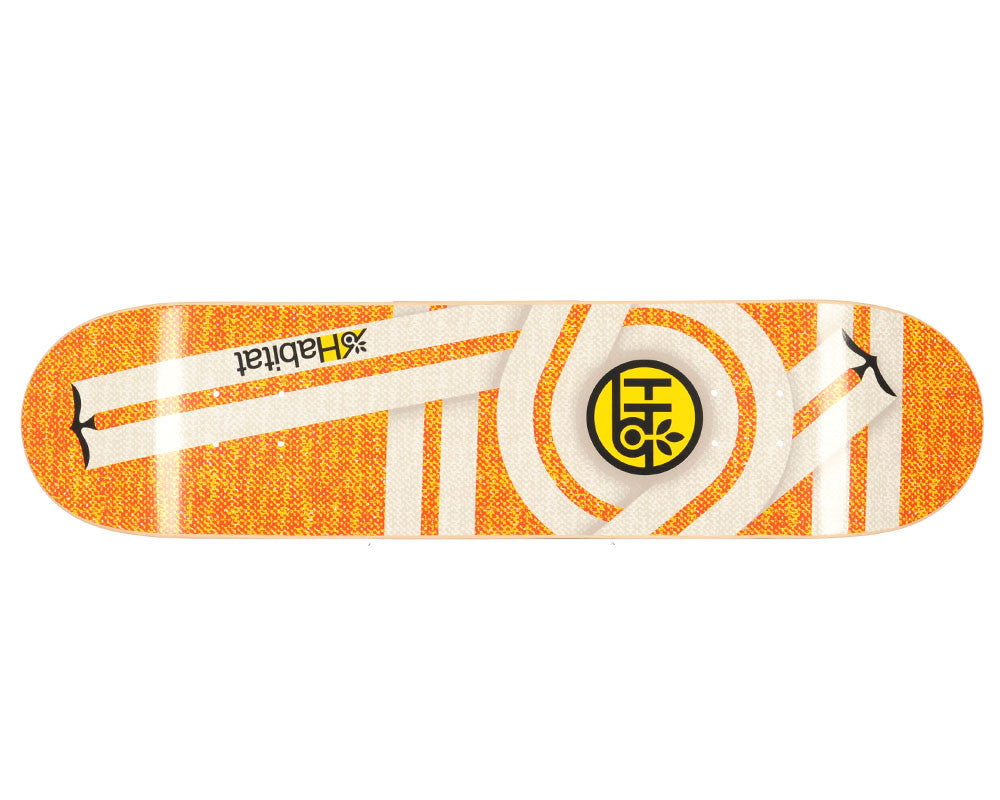 Habitat Flyer Small - Orange - 7.875 - Skateboard Deck