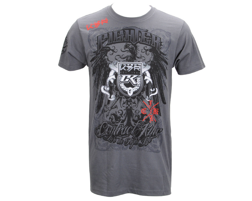 Contract Killer Walk Out T-Shirt - Grey