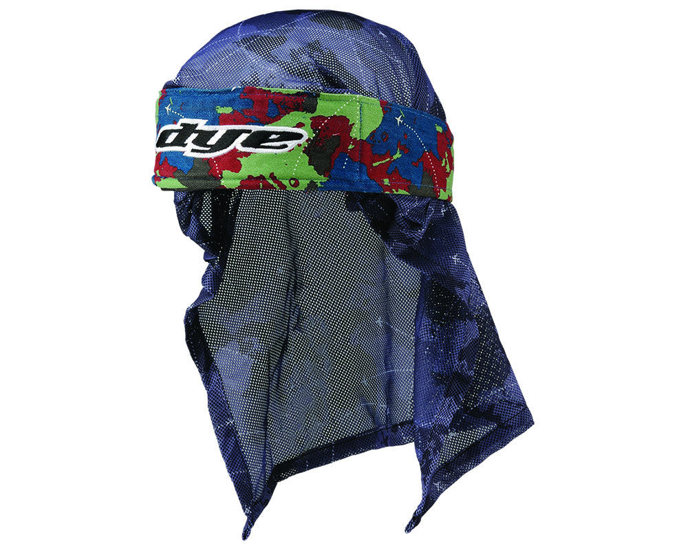 2014 Dye Head Wrap - Global Blue/Red/Light Green