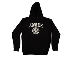 Venture Awake High Hoodie - Black/White - Men's Sweatshirt