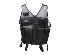 Gen X Global Lightweight Airsoft Vest - Black
