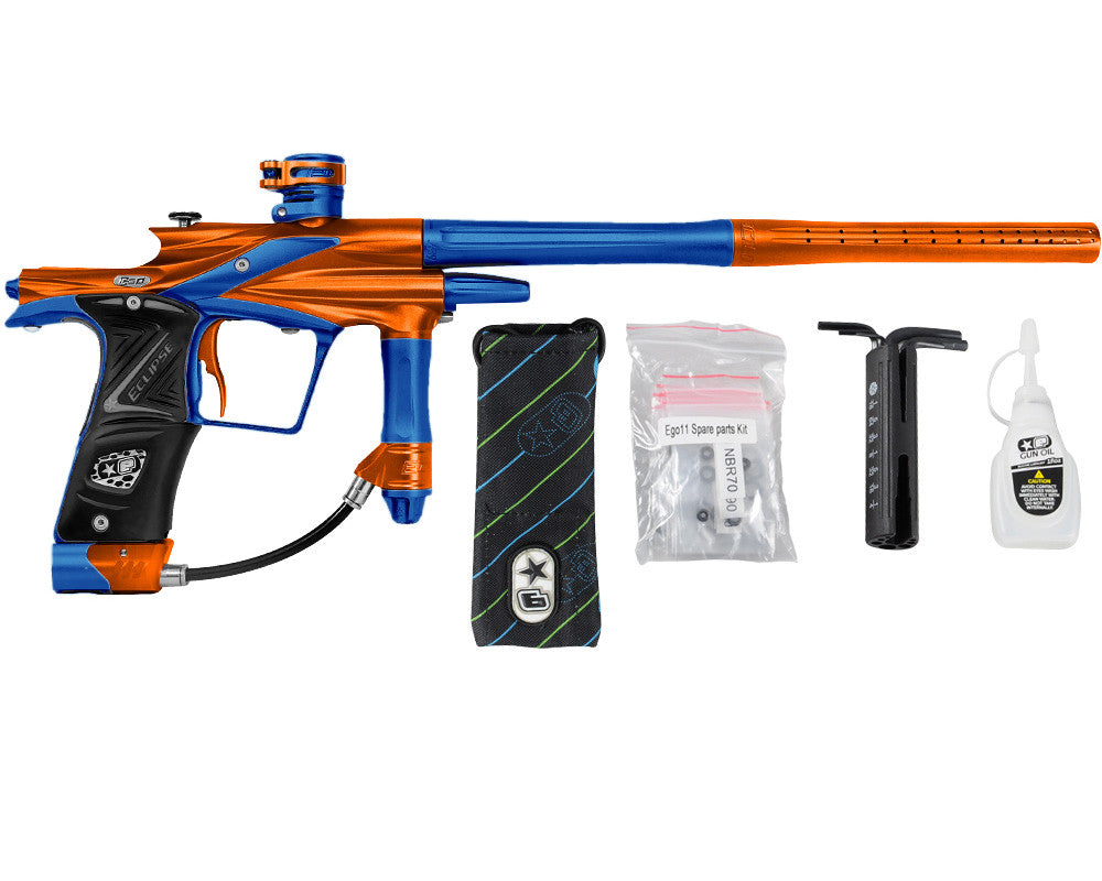 Planet Eclipse 2011 Ego Paintball Gun - Orange/Cobalt