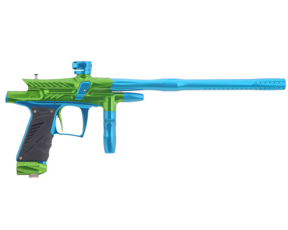 2012 Bob Long G6R F5 OLED Intimidator - Lime/Teal