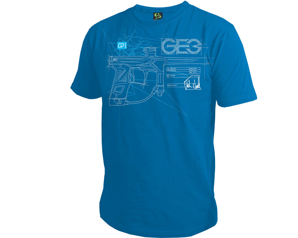 Planet Eclipse Men's 2013 Geo3 T-Shirt - Blue