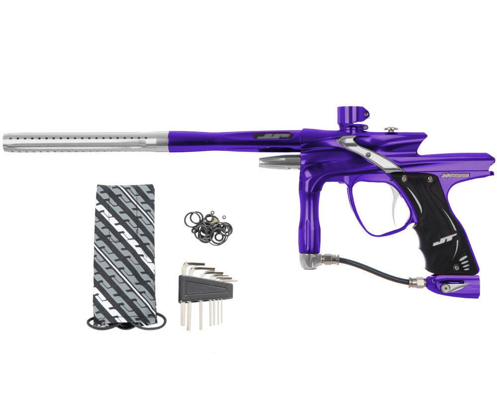 JT Impulse Paintball Gun - Purple/Grey
