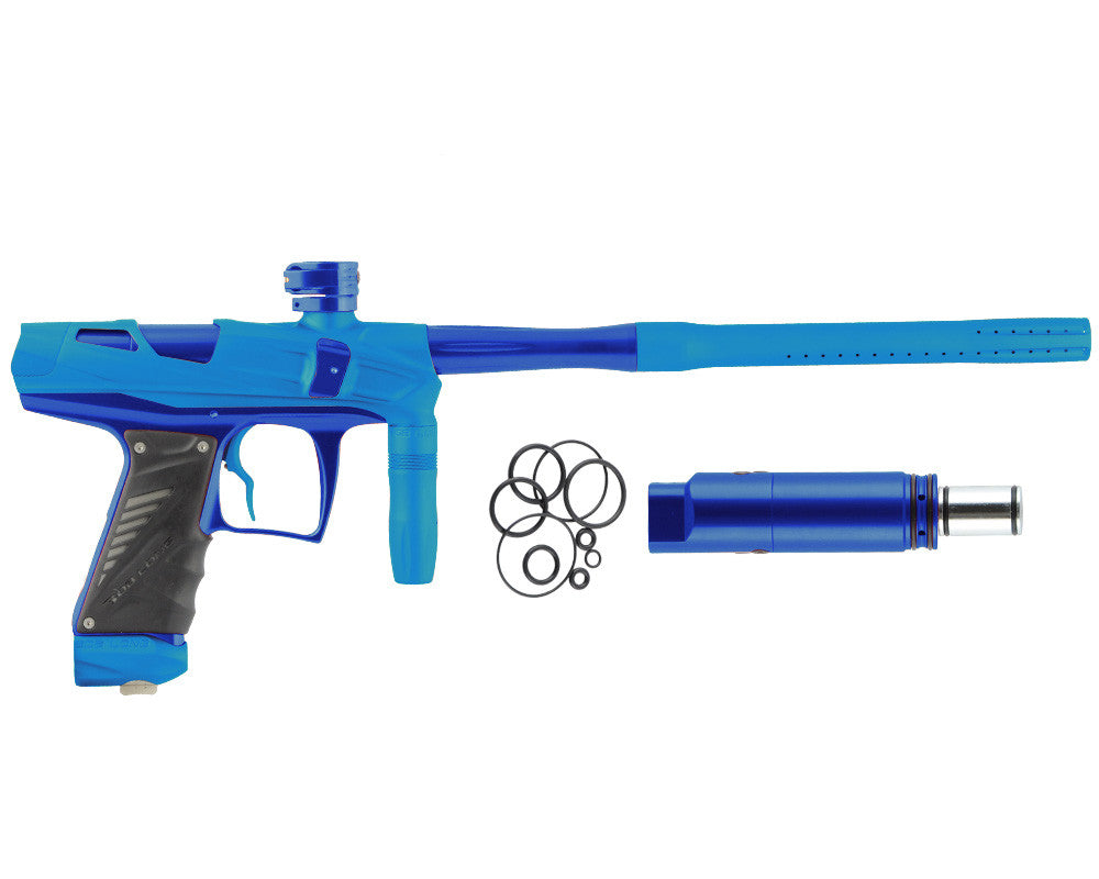 Bob Long Victory V-COM Paintball Gun - Dust Teal/Blue