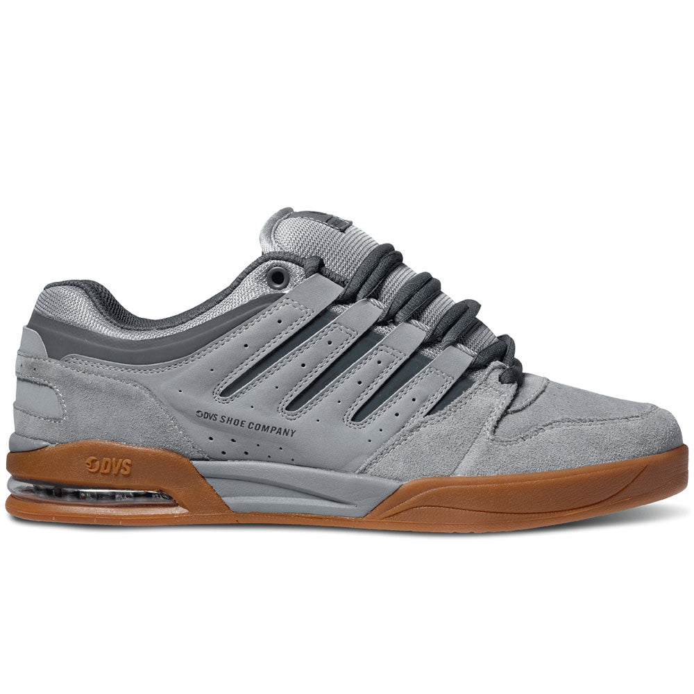 DVS Tycho - Grey/Grey/Gum 021 - Skateboard Shoes