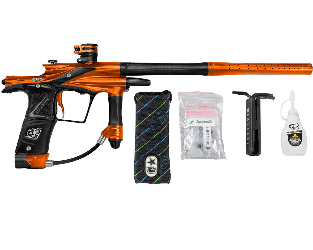 Planet Eclipse 2011 Ego Paintball Gun - Orange/Black