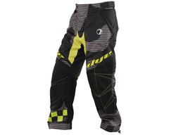 2014 Dye C14 Paintball Pants - Bomber Black/Lime