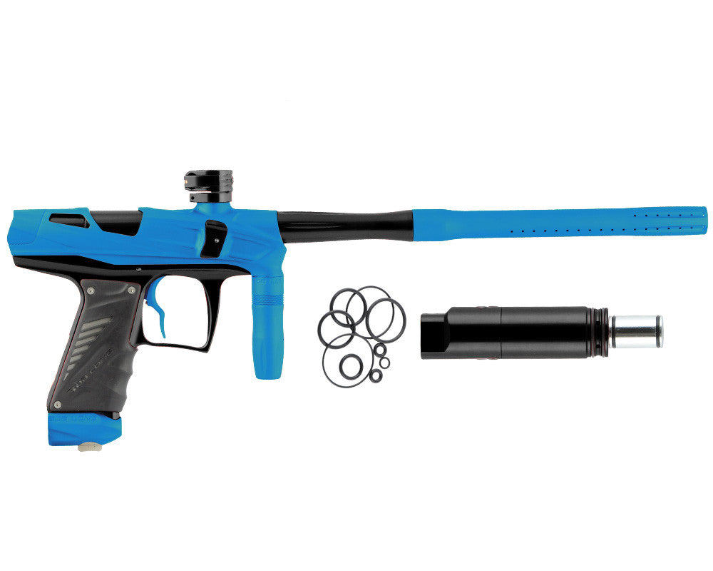Bob Long Victory V-COM Paintball Gun - Dust Teal/Black