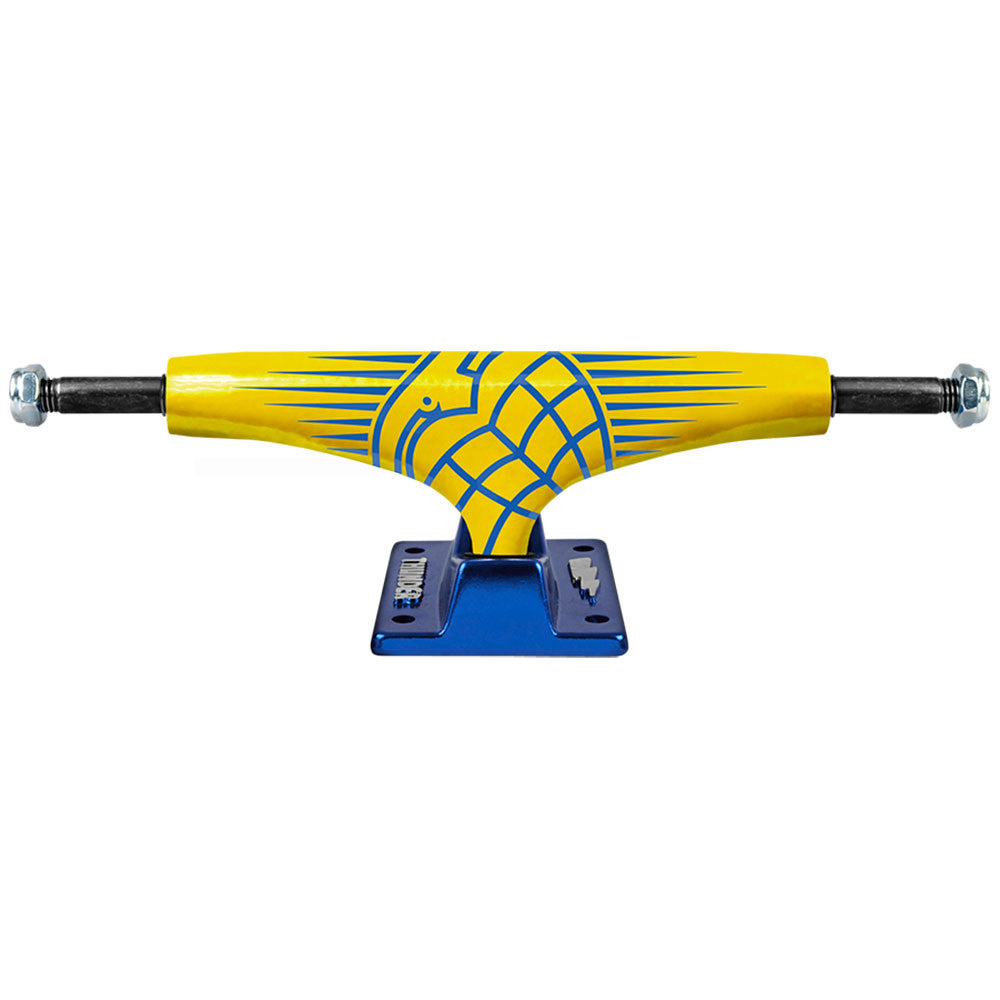 Thunder Wolverine Hollow Lights High - Yellow/Blue - 145mm - Skateboard Trucks (Set of 2)