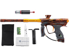 Dye DM13 Paintball Gun w/ CF Billy Wing Bolt - PGA Dyetree Orange
