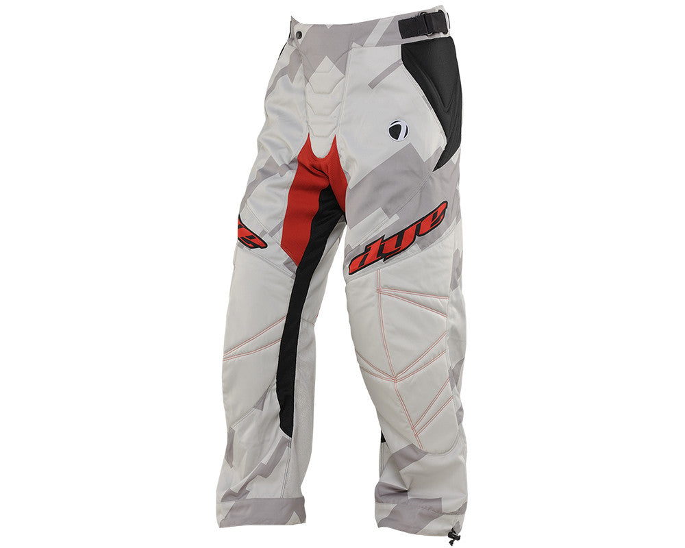 2014 Dye C14 Paintball Pants - Airstrike Grey/Red