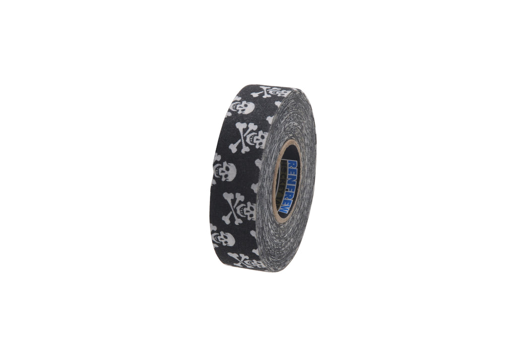 Renfrew Themed Hockey Tape - Skull & Crossbone