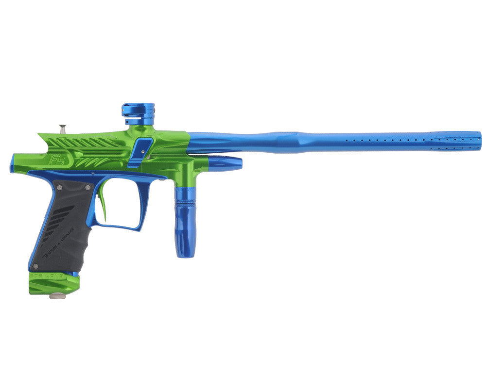 2012 Bob Long G6R F5 OLED Intimidator - Lime/Blue