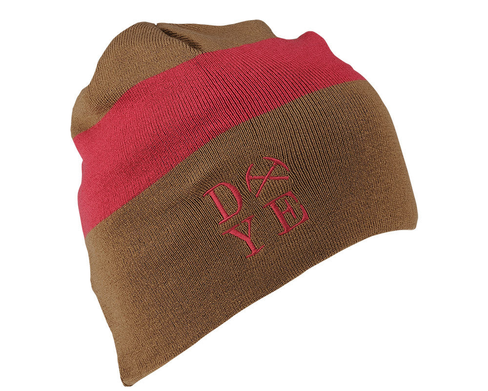 2014 Dye 3AM Beanie - Earth/Maroon