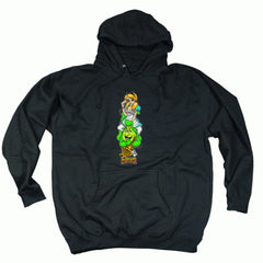Hook Ups Alisons Wonderland Two - Black - Men's Sweatshirt