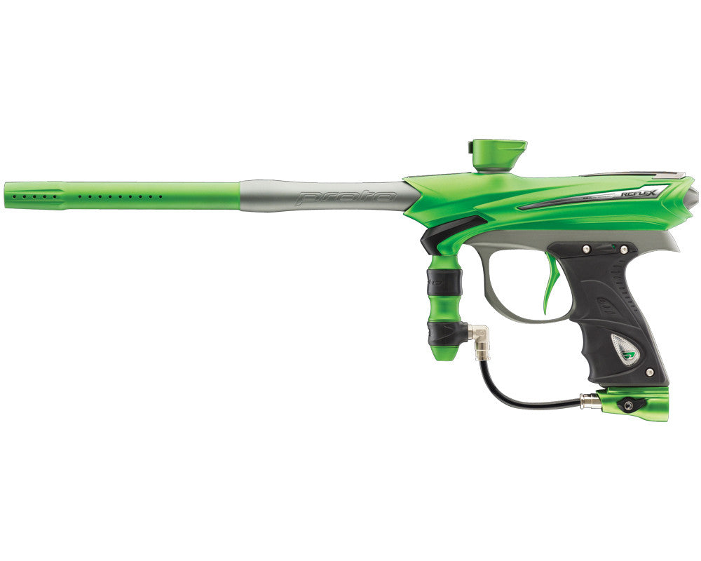2013 Proto Reflex Rail Paintball Gun - Lime/Graphite