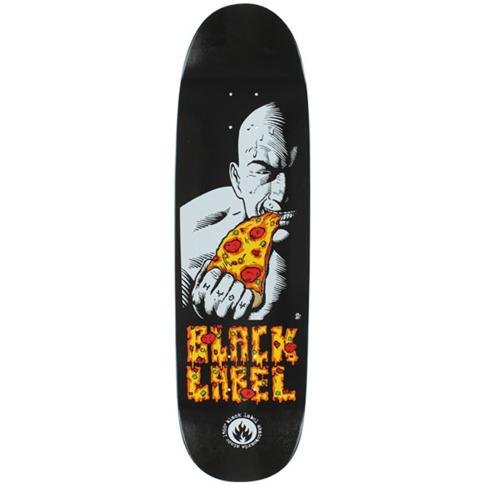 Black Label Salman Agah Tribute - Black - 8.75 - Skateboard Deck