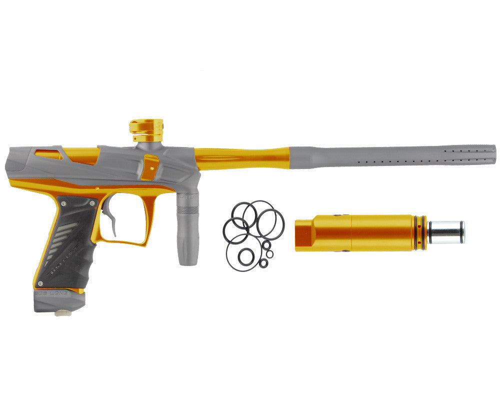 Bob Long Victory V-COM Paintball Gun - Dust Titanium/Gold