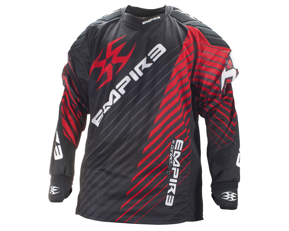 Empire 2014 Contact Zero FT Paintball Jersey - Away - Red