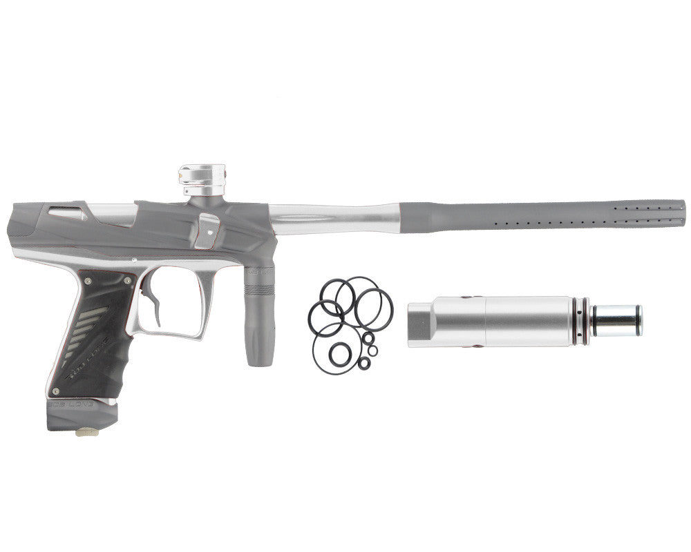 Bob Long Victory V-COM Paintball Gun - Dust Titanium/Silver