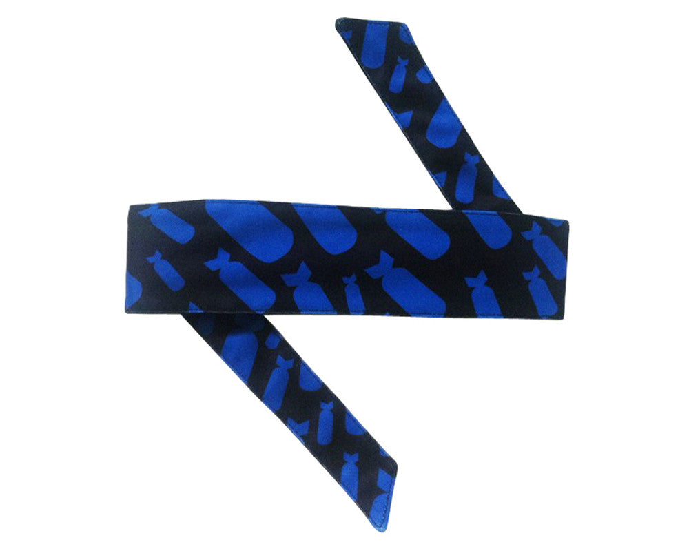 HK Army Headband - Bombs Blue