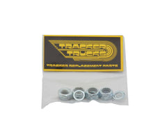 Tracker Trucks Axle Lock Nuts (Set of 4 & Washers) - Skateboard Nuts