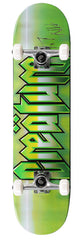 Creature Cold Steel Powerply Small - Green - 7.75in x 31.2in - Complete Skateboard