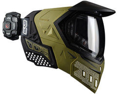 Empire EVS Mask w/ Recon Heads Up Display - Olive/Black