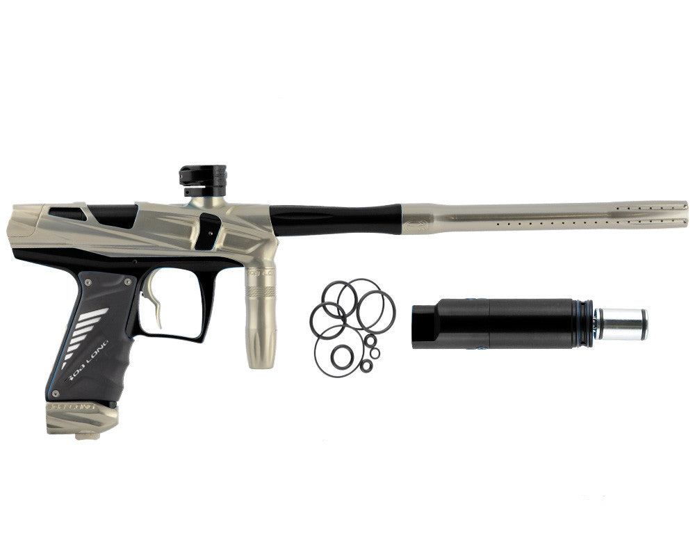Bob Long Victory V-COM Paintball Gun - Khaki/Black