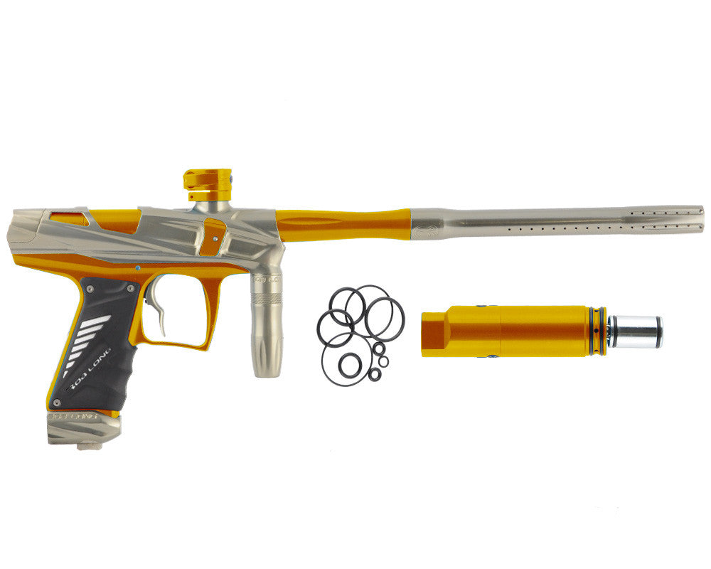 Bob Long Victory V-COM Paintball Gun - Khaki/Gold