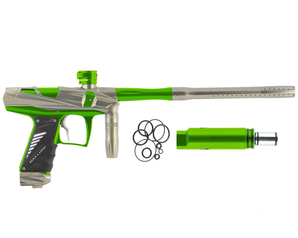 Bob Long Victory V-COM Paintball Gun - Khaki/Lime