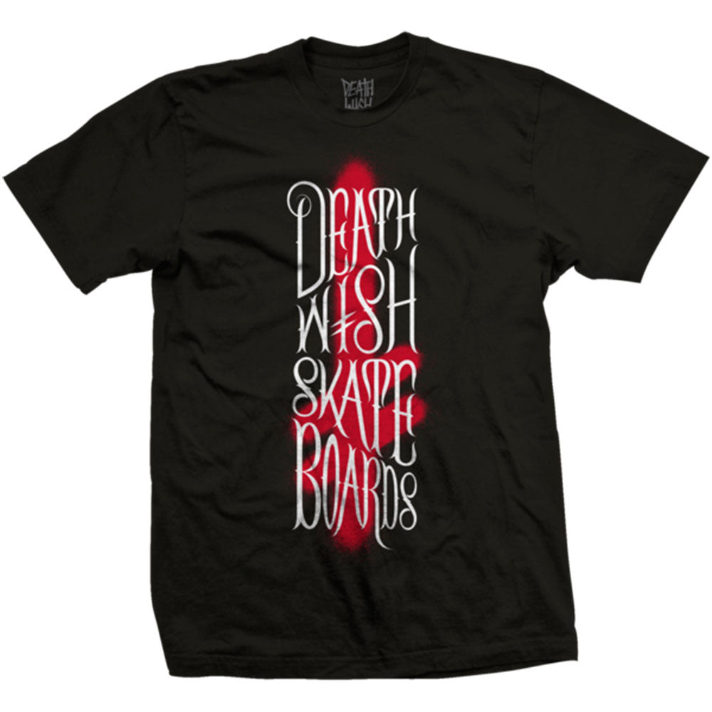 Deathwish Brush Stack - Black/Red - Men's T-Shirt