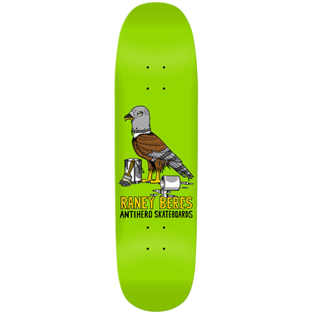 Anti-Hero Beres 1st X-Large - Green - 8.63in x 32.04in - Skateboard Deck