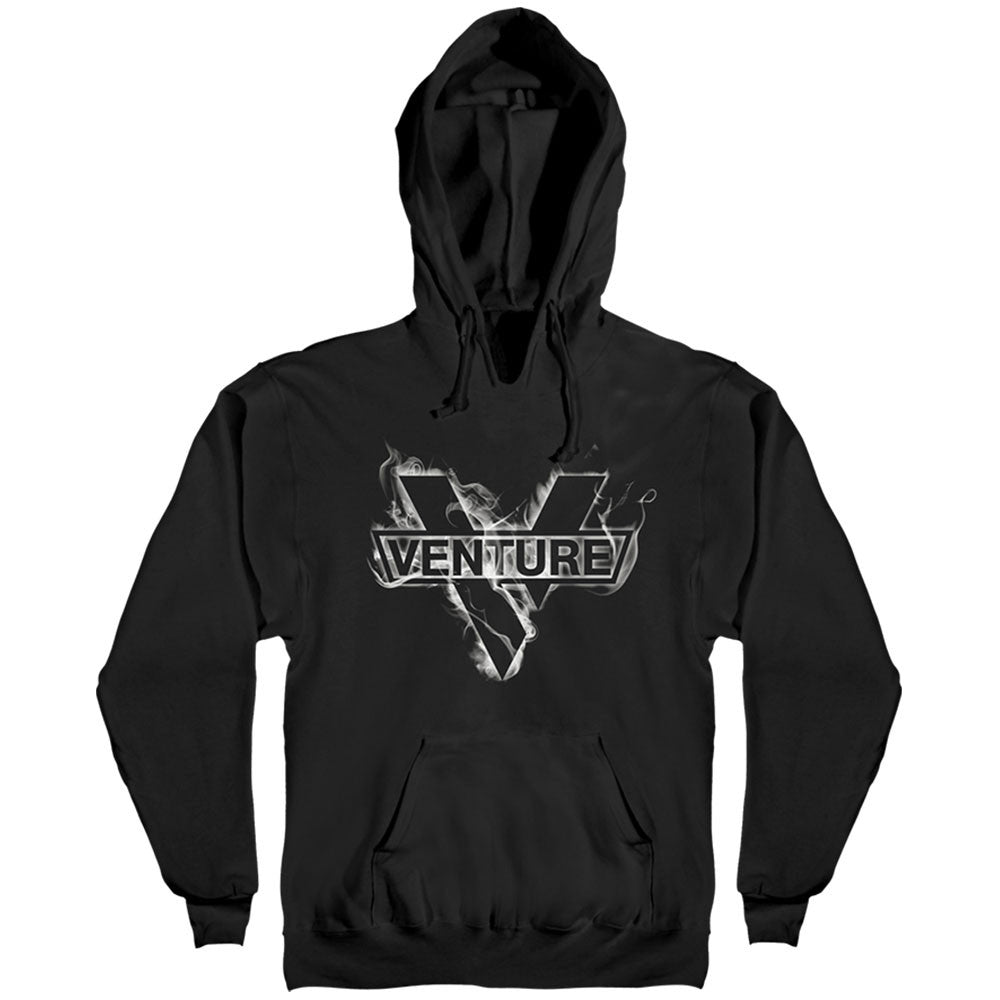 Venture Haze Hooded Pullover - Black/White - Men's Sweatshirt