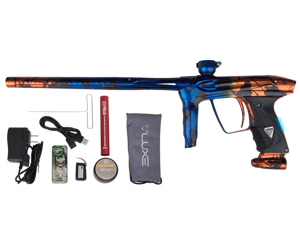 DLX Luxe 2.0 OLED Paintball Gun - Electric Burn
