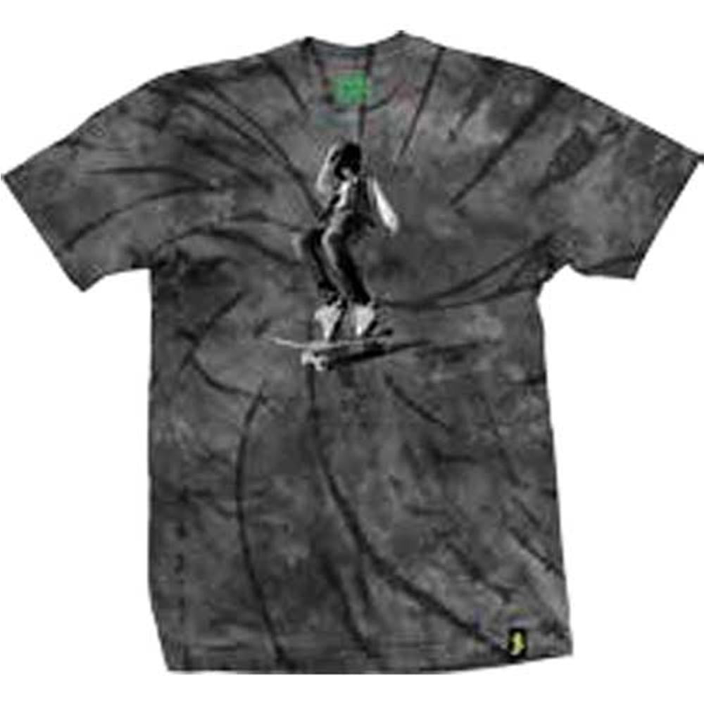 Shake Junt Ali - Black/Grey Tie-Dye - Men's T-Shirt