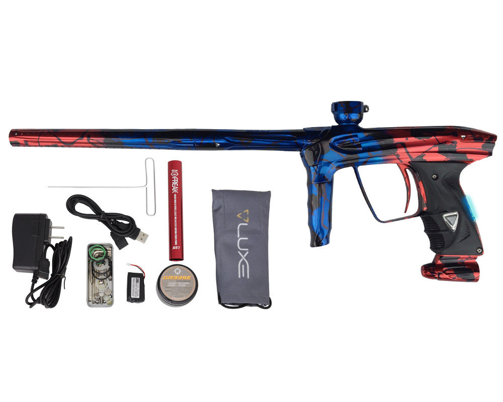 DLX Luxe 2.0 OLED Paintball Gun - Electric Fire