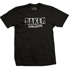 Baker Brand Logo S/S - Black/White - Men's T-Shirt