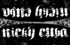 Hater Gun Graffiti - Nicky Cuba Gothic Black