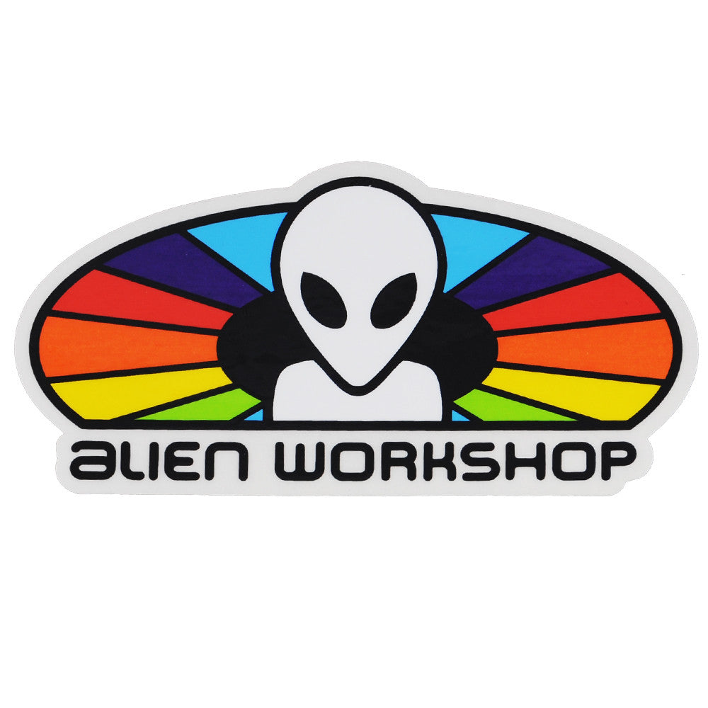 Alien Workshop Spectrum - White - Sticker