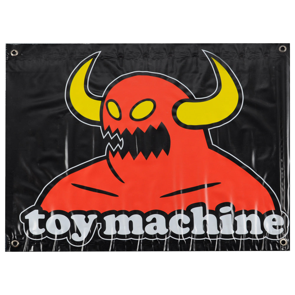Toy Machine Monster - 27 x 35 - Skate Banner