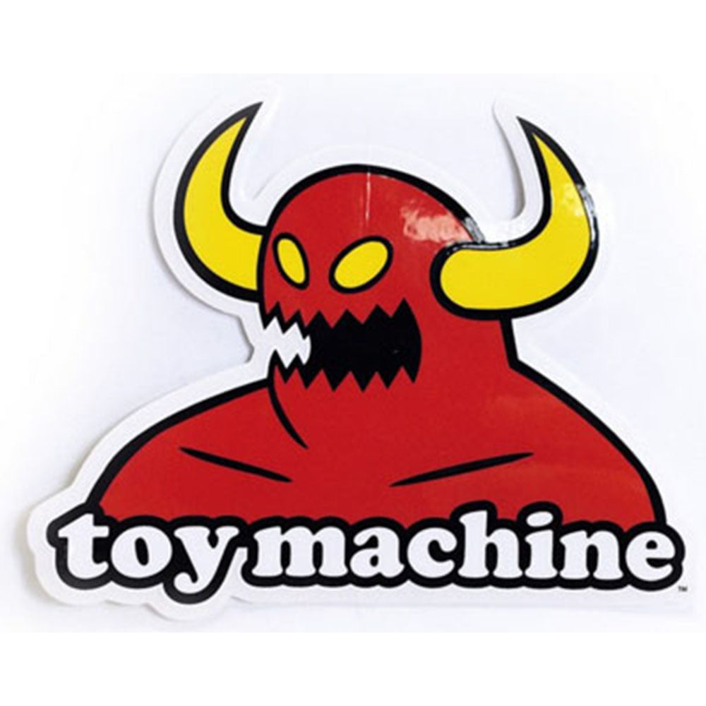 Toy Machine Monster Medium - Red/White - Sticker