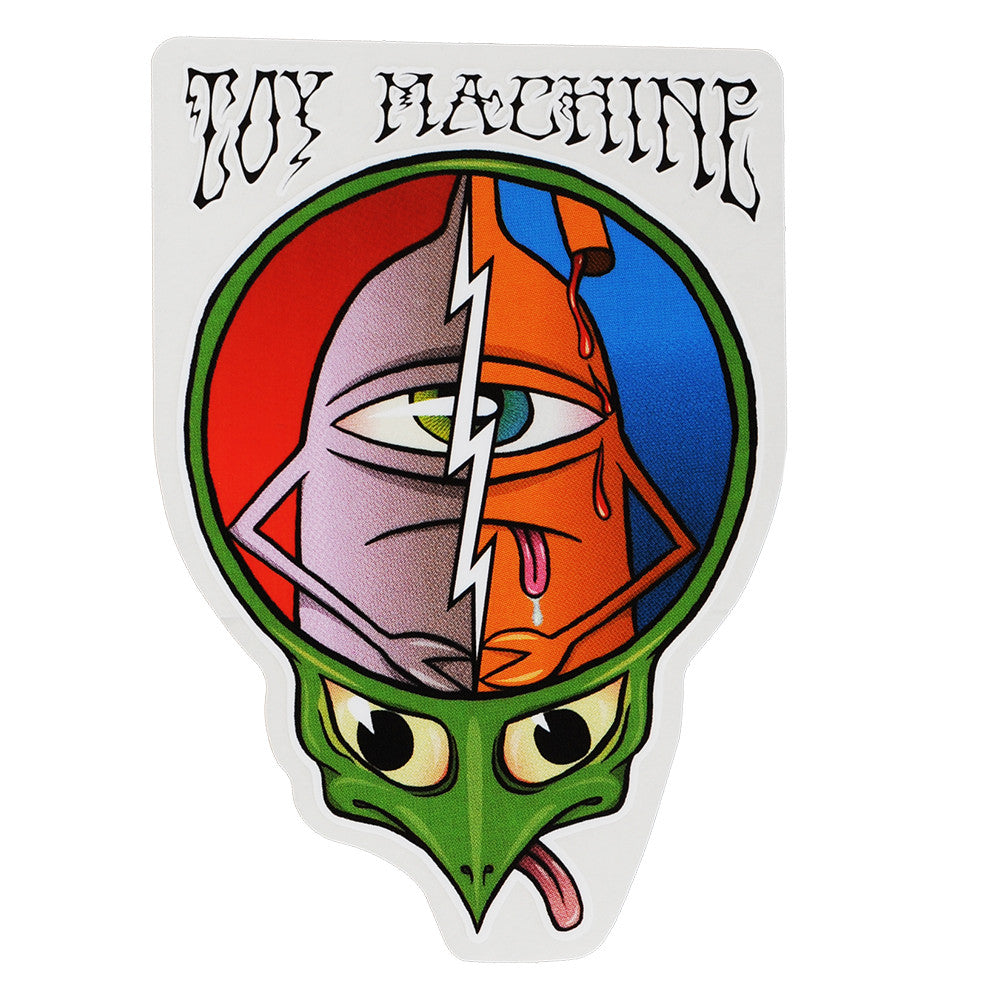Toy Machine Grateful Dead - White - Sticker