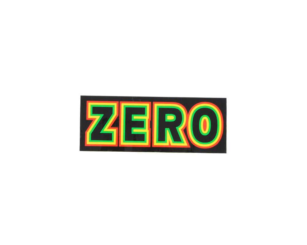 Zero Rasta Bold - Assorted - Sticker