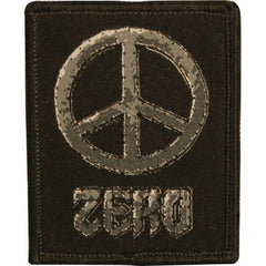 Zero PEACE - Black - Patch