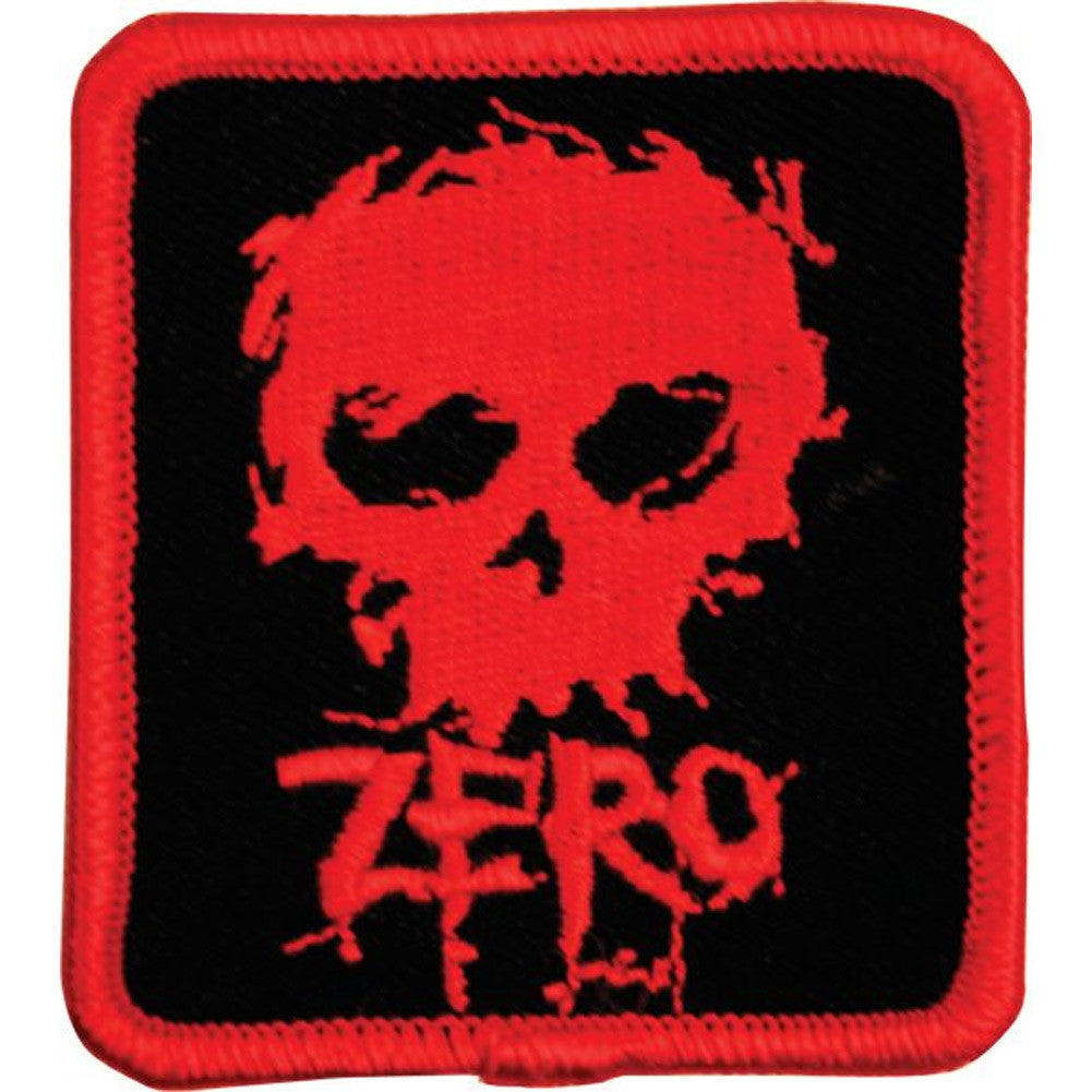 Zero Blood Skull - Black/Red - Patch