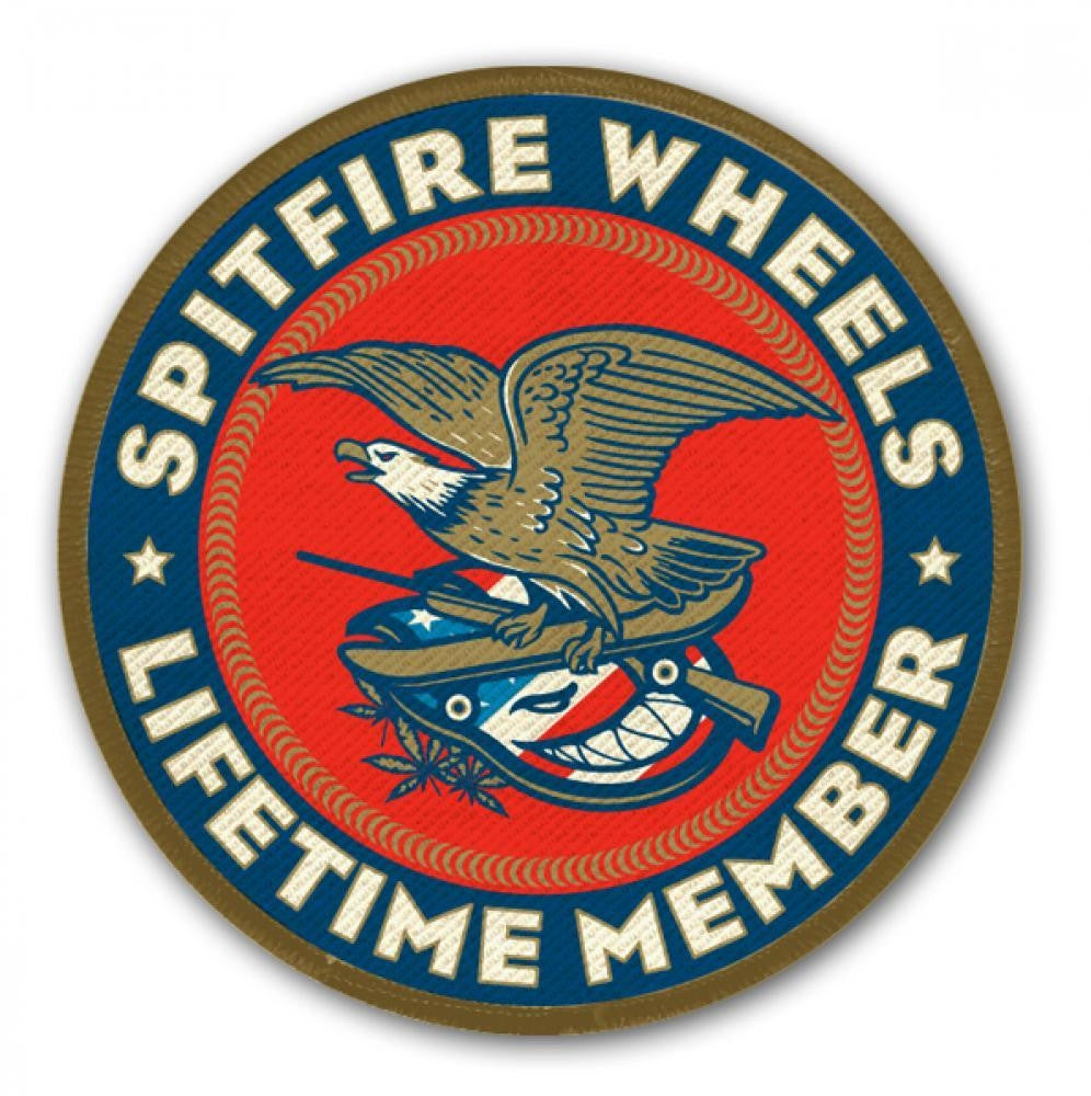 Spitfire Member Large - Sticker