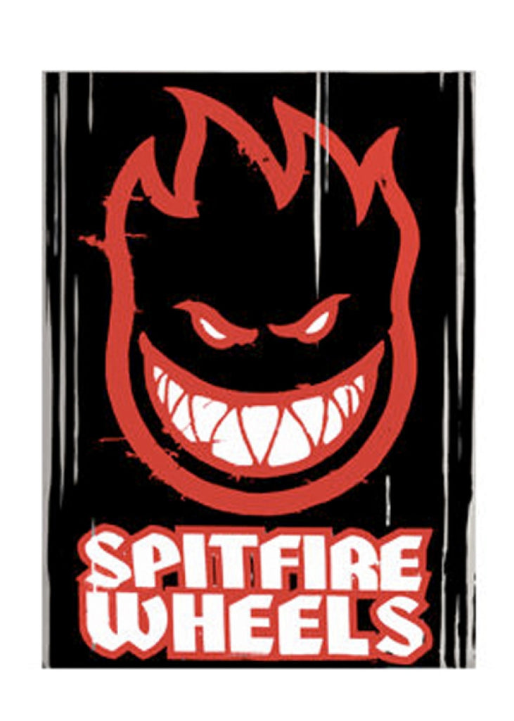 Spitfire Ramp Head Huge - Black/Red/White - Sticker